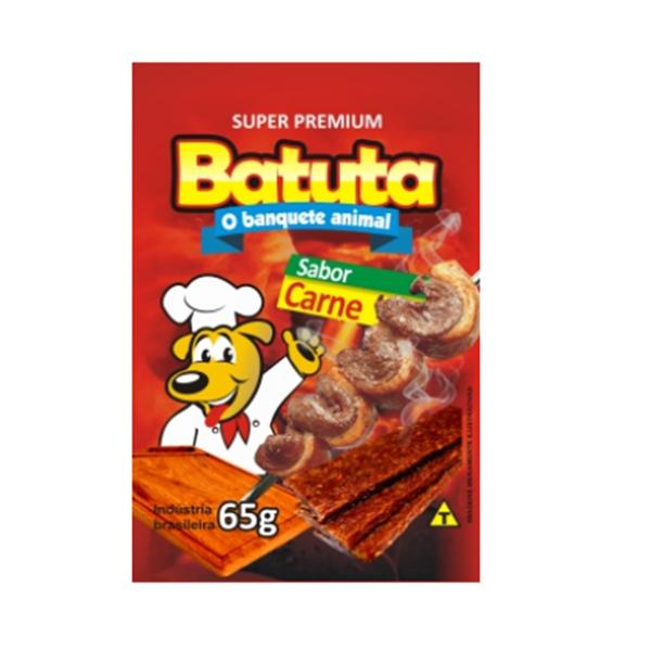 BATUTA STICKS SABOR CARNE 65G