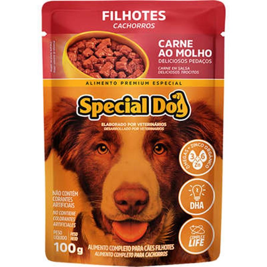 SPECIAL DOG SACHÊ FILHOTES 100G