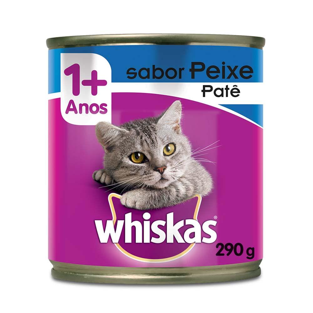 WHISKAS PATÊ PEIXE 1+ 290G