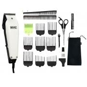 Maquina de cortar cabelo Wahl home pró 110v kit com 18 pcs