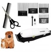 maquina para tosar cães 220v kit completo