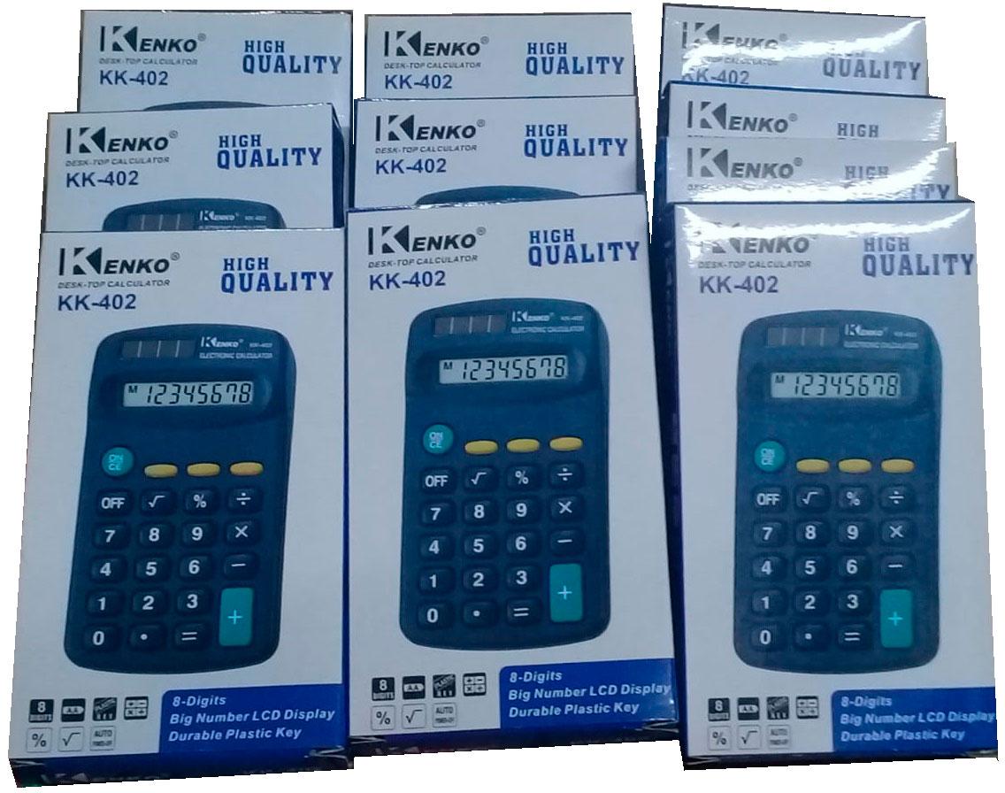 calculadora atacado kit com 10 unidades
