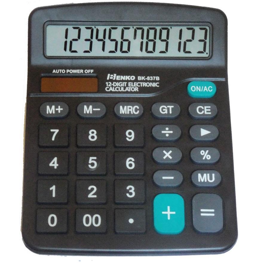 calculadora de mesa 12 digitos kit com 10 unidades