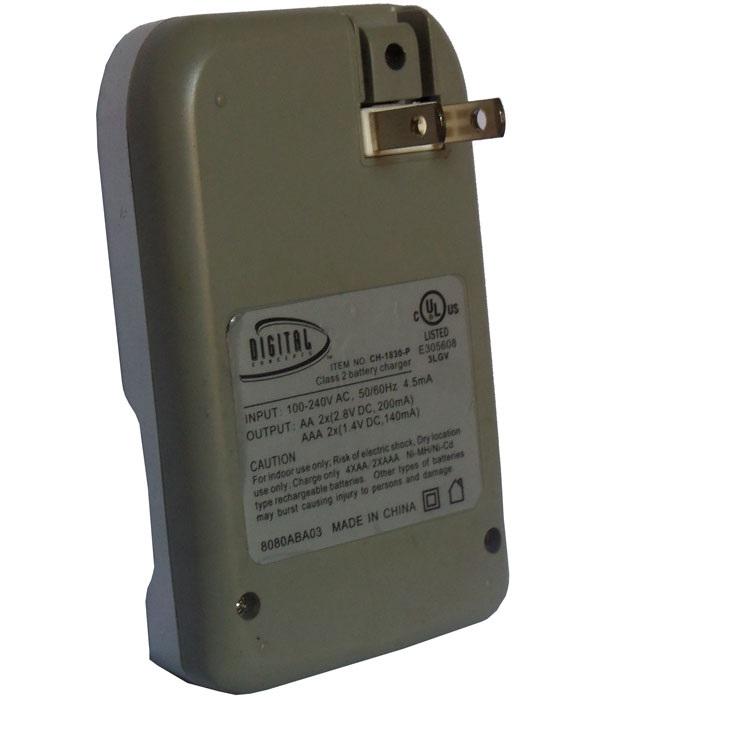 carregador de pilhas Digital 110v 220v