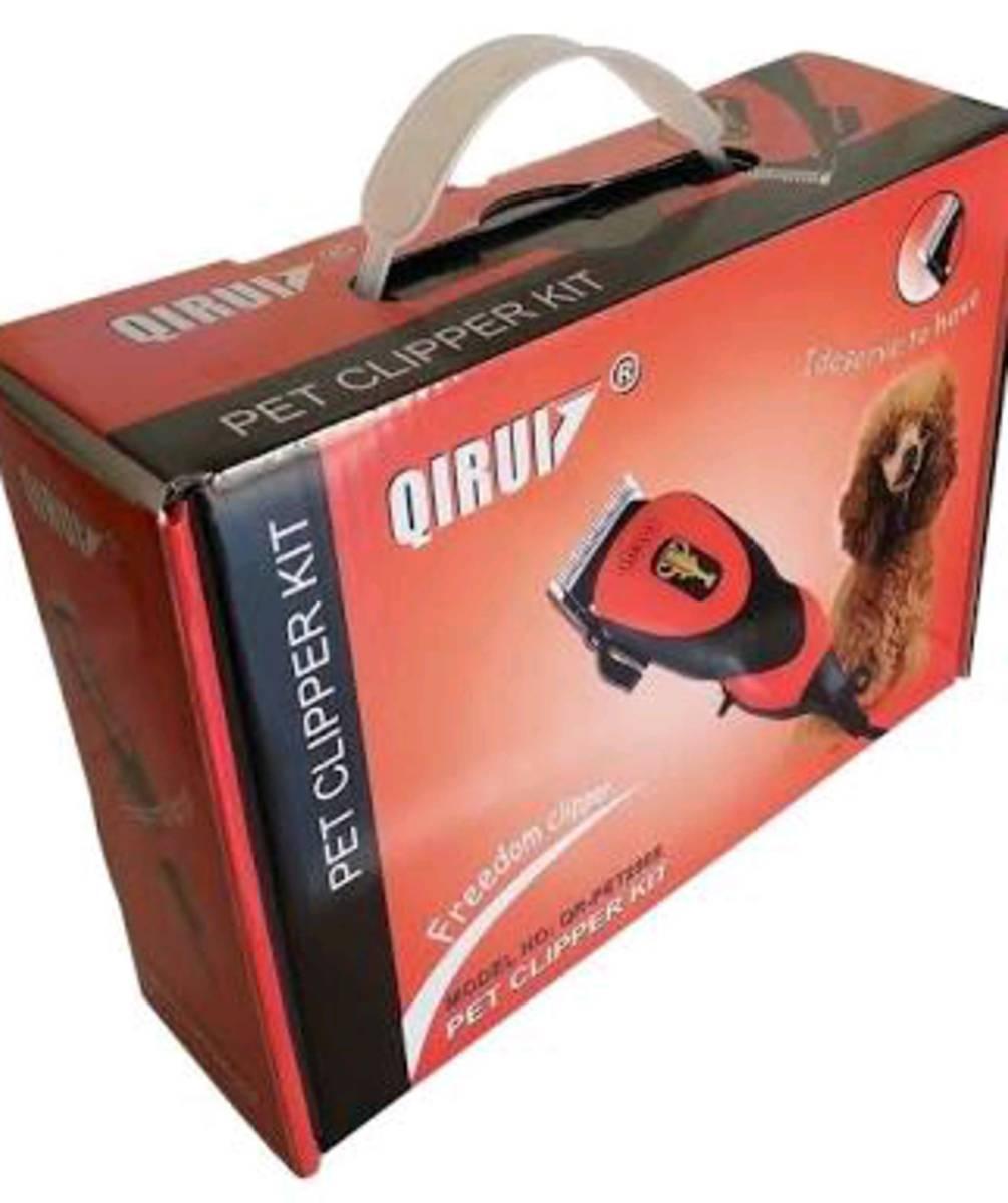 maquina de tosar cães Qirui 110v