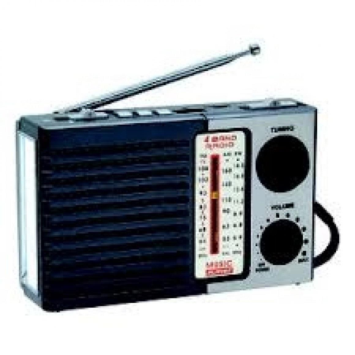 radio com lanterna am fm usb sd 110v 220v