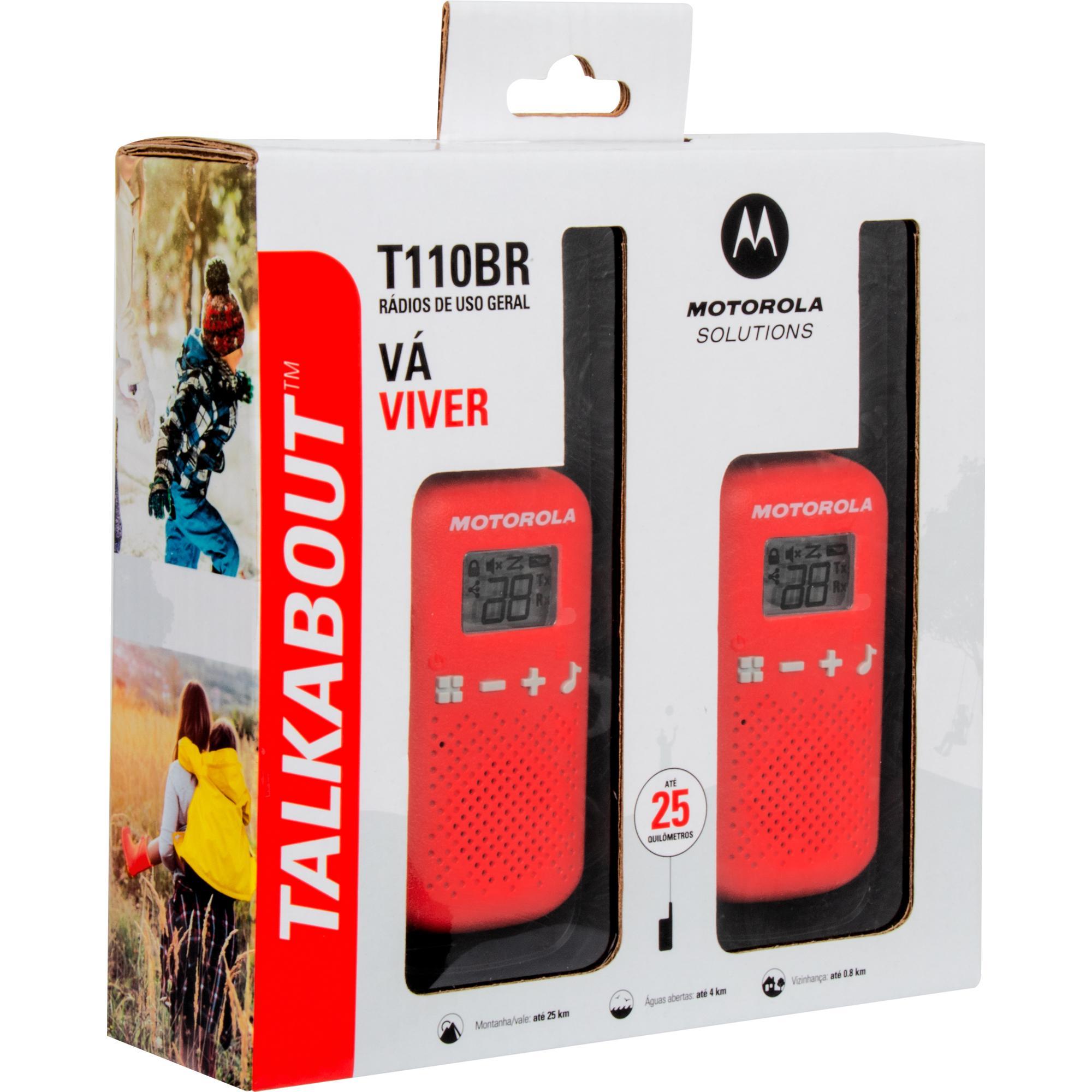 Radio Comunicador Motorola Talkabout T-110