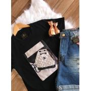 T-Shirts Estampada Feminina