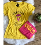 T-Shirts Estampada
