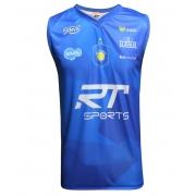 Camisa de Vôlei Taubaté Treino Regata 2020/21 Azul - Masculina