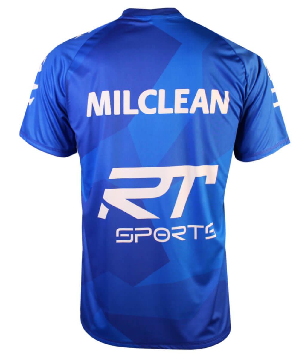 Camisa de Vôlei Taubaté Treino 2020/21 Azul - Masculina