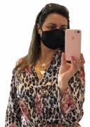 CAMISA POLIESTER ONÇA FLORIDA