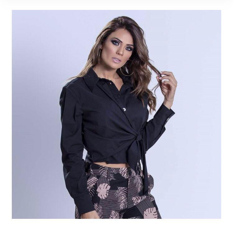 Camisa Social Mary Laço