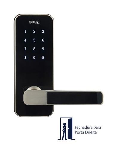 Fechadura Smart Lock SL100 Direita Prata