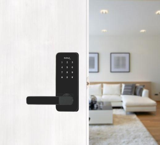 Fechadura Smart Lock SL100 Esquerda Preta