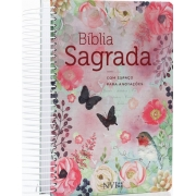Bíblia Anote Espiral | Letra Média | Clássica Virtuosa