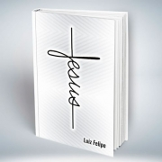 Bíblia Personalizada Com Nome | Jesus Branca | Frete Grátis