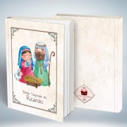 Bíblia Personalizada Com Nome | Infantil 2 | Frete Grátis