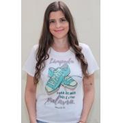 T-shirt   Salmos 119:105   Branca
