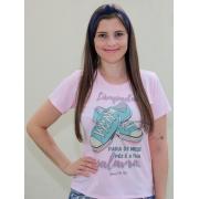 T-shirt   Salmos 119:105   Rosa