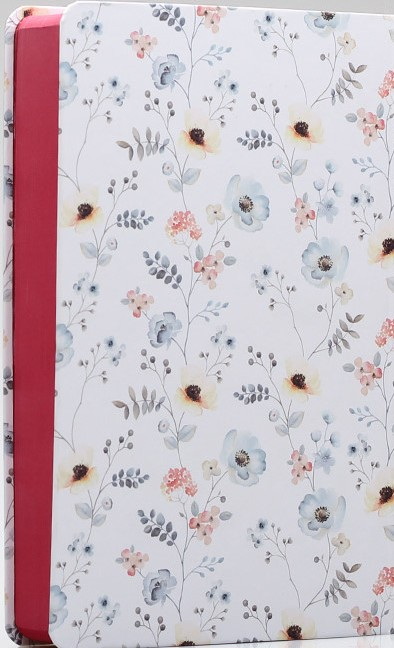 Bíblia de Estudo da Mulher de Fé   NVI  Letra Normal   Floral