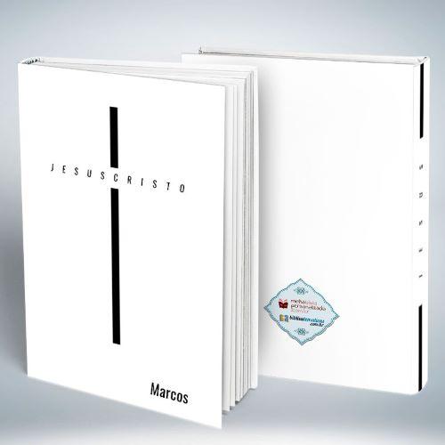 Bíblia Personalizada Com Nome | Jesus Cruz Branca | Frete Grátis