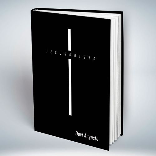 Bíblia Personalizada Com Nome | Jesus Cruz Preta | Frete Grátis