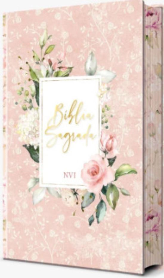Bíblia Sagrada Flores Rosa (NVI)