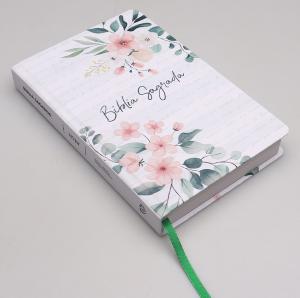 Bíblia Sagrada   NVI   Letra Normal   Capa Dura   Soft Touch   Floral