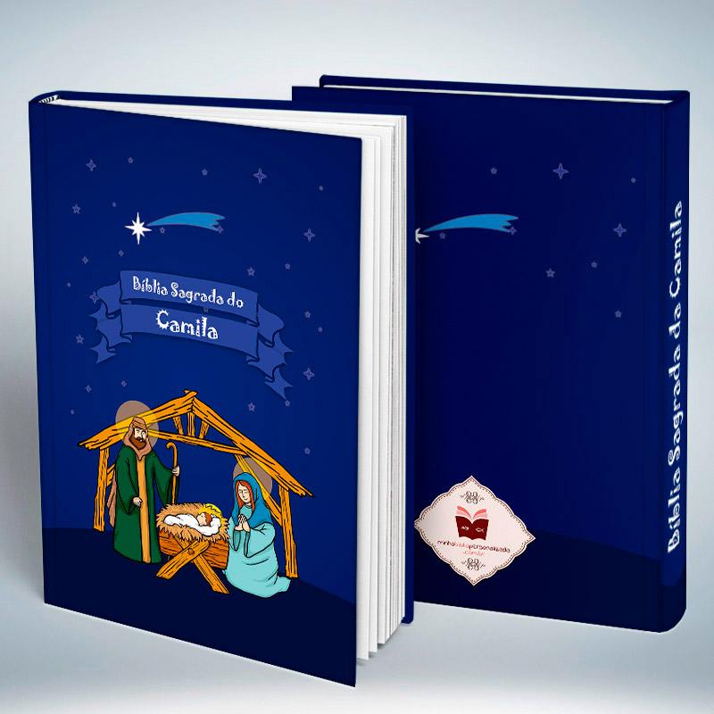 Bíblia Personalizada Com Nome | Infantil Natal| Frete Grátis