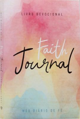 Devocional Faith Journal Meu Diário de Fé - Aquarela Soft