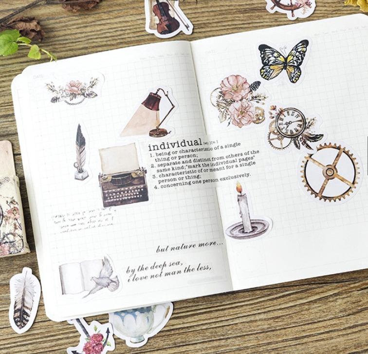 Kit com 23 Adesivos para Bíblias, Planners e Scrapbook
