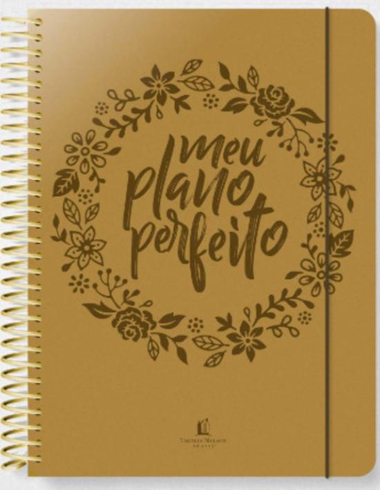 Meu Plano Perfeito (Capa Luxo Dourada)