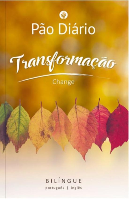 Pão Diário - Transformação Ed. Bilíngue (Português-Inglês)