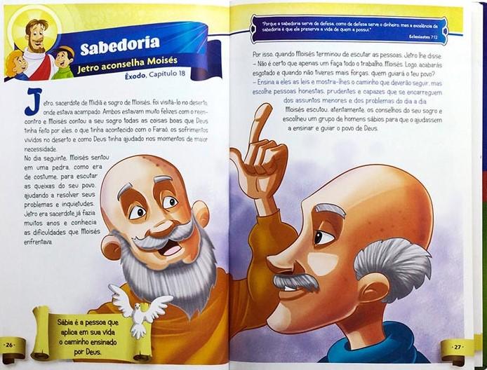 Relatos Bíblicos Para Crianças   Valores Que a Bíblia Ensina