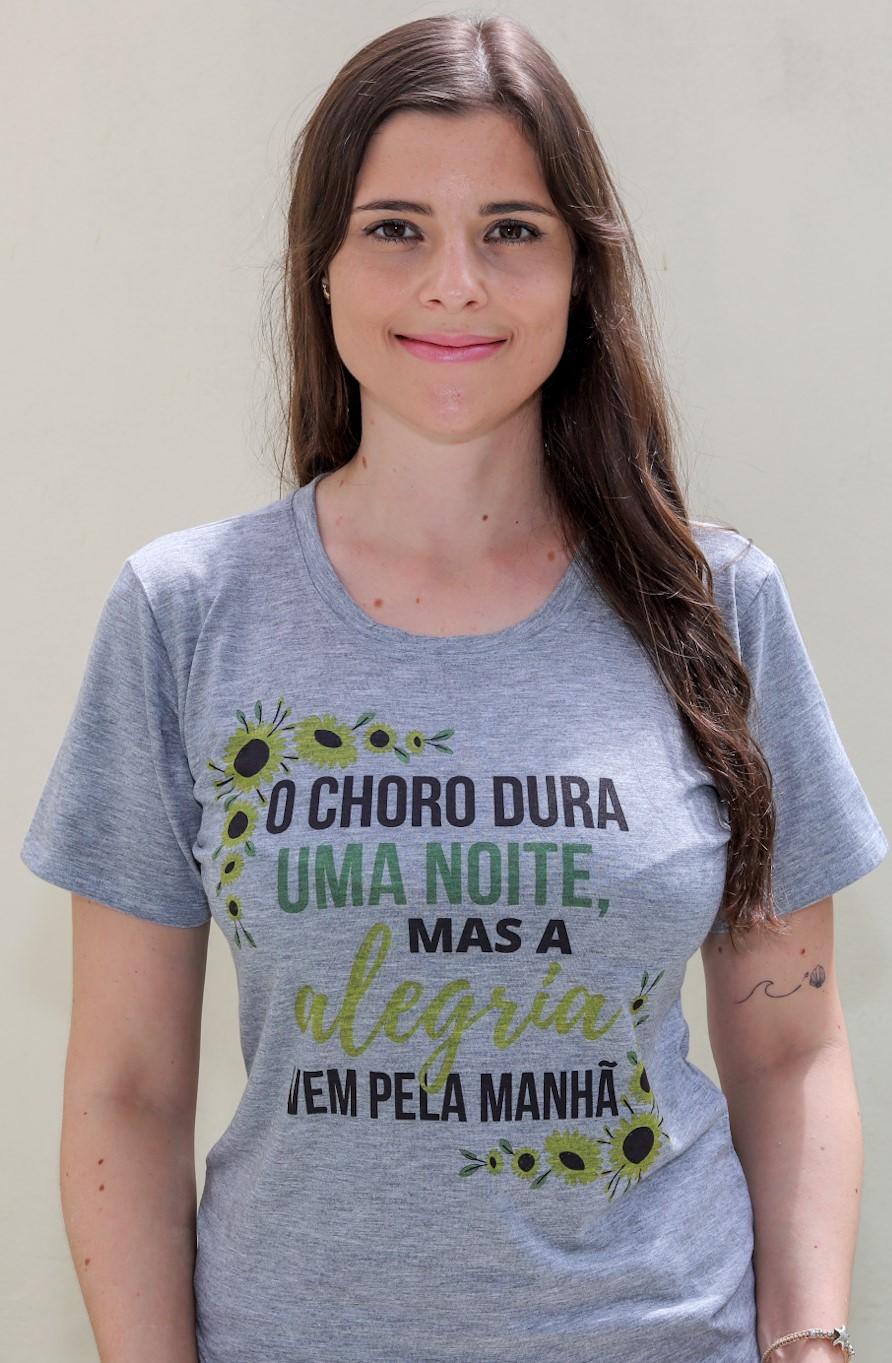 T-shirt | O Choro Dura Uma Noite | Cinza