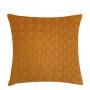 Almofada de Tricot Cesta (Capa + Enchimento) Mostarda - 50x50