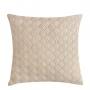 Almofada de Tricot Cesta (Capa + Enchimento) Off White - 50x50