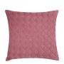 Almofada de Tricot Cesta (Capa + Enchimento) Rosa Antigo - 50x50