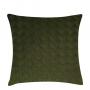 Almofada de Tricot Cesta (Capa + Enchimento) Verde Militar - 50x50