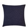 Almofada de Tricot Colmeia (Capa + Enchimento) Azul Marinho - 50x50