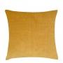 Almofada em Camurça (Capa + Enchimento) Amarelo - 50x50 - Al Mare