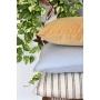 Almofada em Linho Lisa (Capa + Enchimento) Azul Claro - 50x50 - Al Mare