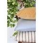 Almofada em Linho Lisa (Capa + Enchimento) Listrado - 50x50 - Al Mare