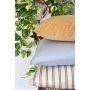 Capa de Almofada de Linho Lisa 50x50 Listrado - Al Mare