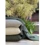 Capa de Almofada de Tricot Cesta Cotton 50x50 Verde Militar