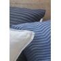 Capa de Almofada de Tricot Cordas Cotton 50x50 Azul Índigo