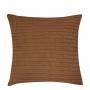 Capa de Almofada de Tricot Cordas Cotton 50x50 Ferrugem
