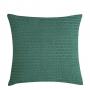 Capa de Almofada de Tricot Cordas Cotton 50x50 Verde Mediterrâneo