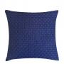 Capa de Almofada de Tricot Esteira Cotton 50x50 Azul Petróleo